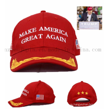 OEM Logo Promotional Advertising Baseball Hat Cap for Vote